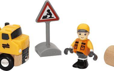 BRIO Stavební stroje + příslušenství