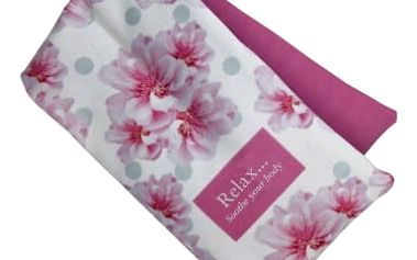 Nahřívací květinový polštářek - Třesňový květ