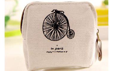 Dámská peněženka ve stylu Francie - 4 varianty