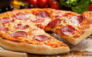 Ať vám to křupe: 2 pizzy dle výběru