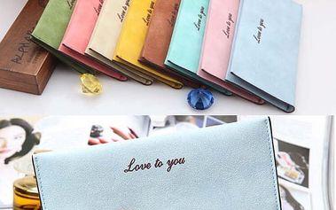 Dámská peněženka v 8 barvách