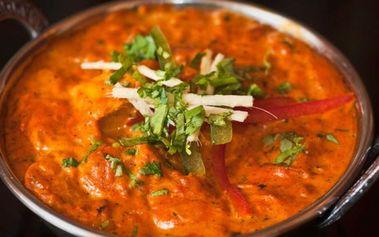 30% sleva na veškerá jídla v síti indických restaurací Masala