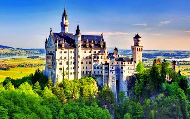 Pohádkové zámky šíleného krále – Neuschwanstein a Linderhof