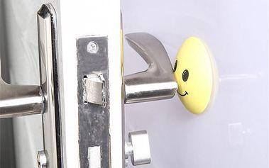 Zarážka za dveře v podobě smajlíků - 4 varianty