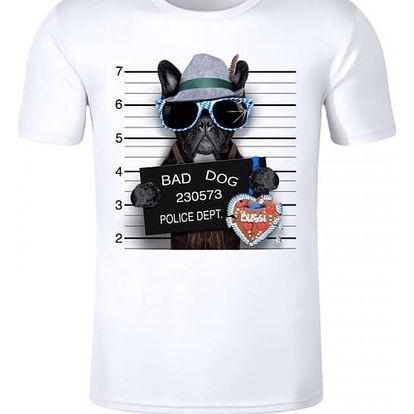 Pánské triko - Zlý pes