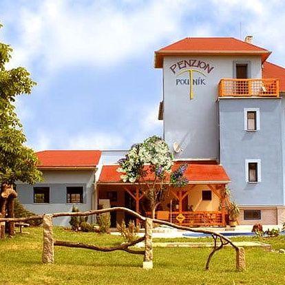3–5denní pobyt pro 2 se snídaní, solnou jeskyní a lahví vína v penzionu Poutník u Třeboně