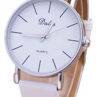 Jednoduché hodinky pro dámy - několik barev