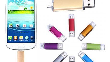 Univerzální kompaktní USB flash disk s funkcí OTG - 32 GB