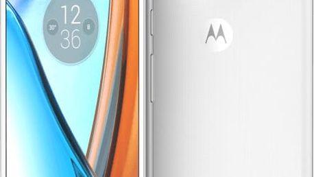 Lenovo Moto G4 - 16GB, LTE, bílá - SM4374AD1N7 + Zdarma CulCharge MicroUSB kabel - přívěsek (v ceně 249,-)
