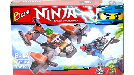 Stavebnice Ninja-Mistři Spinjitsu letadlo malá
