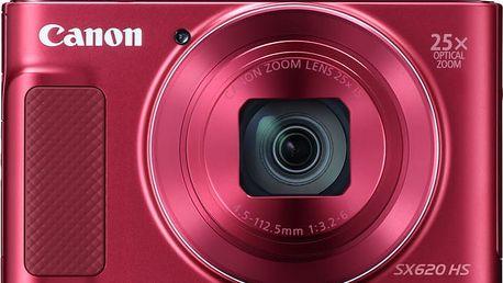 Canon PowerShot SX620 HS, červená - 1073C002