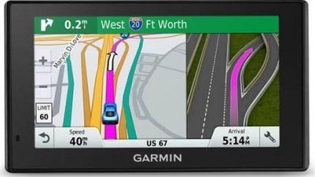 Navigační systém GPS Garmin DriveSmart 60T Lifetime Europe45 černá