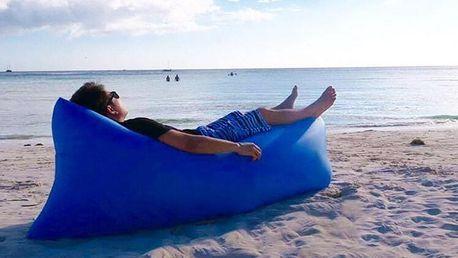 Samonafukovací pytel - posezení na festival, výlet či k vodě: osobní odběr nebo doprava v ceně