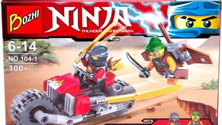 Stavebnice Ninja-Mistři Spinjitsu auto