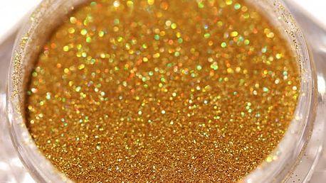 Třpytivý prášek na nehty - 8 barev