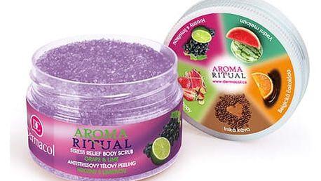 Dermacol Aroma Ritual Grape & Lime 200 g tělový peeling W
