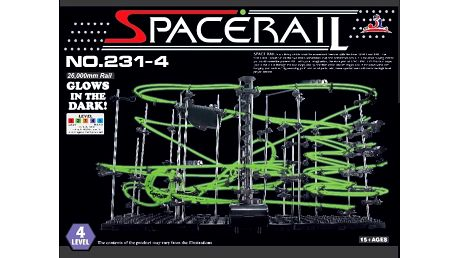 Space Rail GLOW svítící Level 4 - 26m