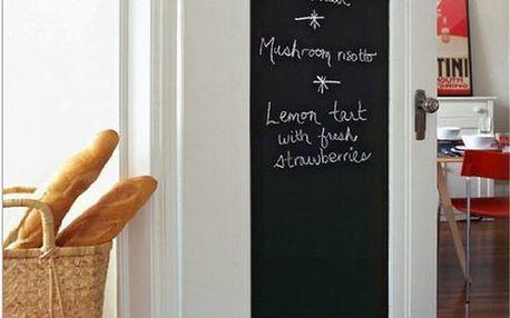 Nalepovací tabule na zeď - 200 x 45 cm