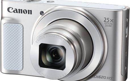 Canon PowerShot SX620 HS, bílá - 1074C002 + Pouzdro Canon DCC-1500 v ceně 499 Kč