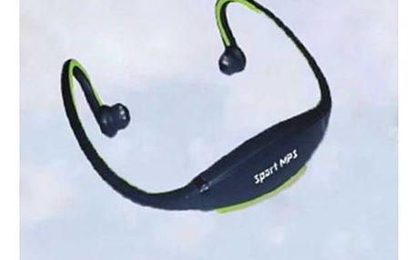 Sportovní bezdrátová sluchátka za krk