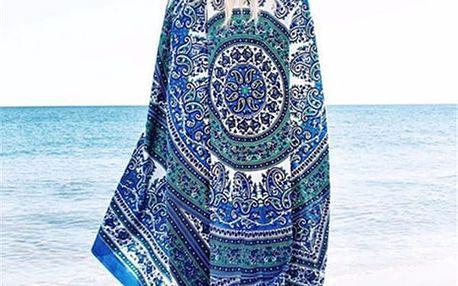 Bohémský šátek mandala