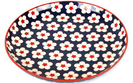 Maxwell & Williams Dezertní talíř Cotton Bud tmavomodrý 18,5 cm