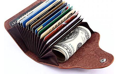 Pouzdro na osobní doklady a zákaznické karty - 6 barev
