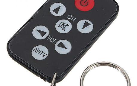 Univerzální IR mini dálkový ovladač na televize - dodání do 2 dnů
