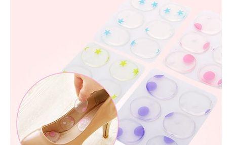Silikonové podložky do bot proti puchýřům a otlačeninám