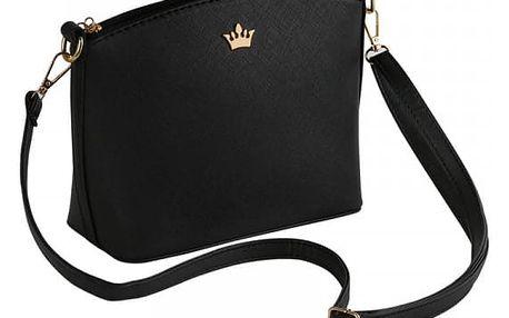 Dámská kabelka s korunkou ve čtyřech barvách