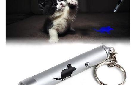 Laserové ukazovátko s myškou