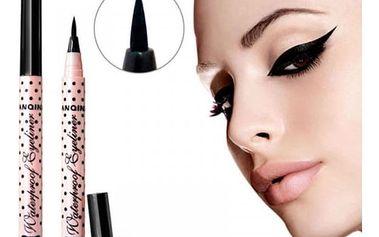 Voděodolná tužka na oční linky - černá barva
