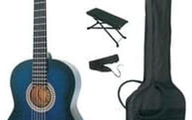 Sada akustické kytary MSA Blueburst, 4/4