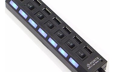 USB HUB se 7 porty