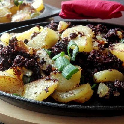 Prachovská pánvička - prejt s bramborem a zelím