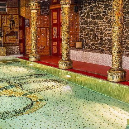 Antické lázně na 1,5 hodiny pro 2 osoby
