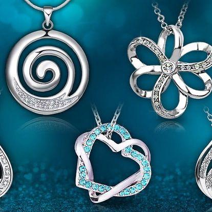 Šperky s krystaly Swarovski Elements a zirkony