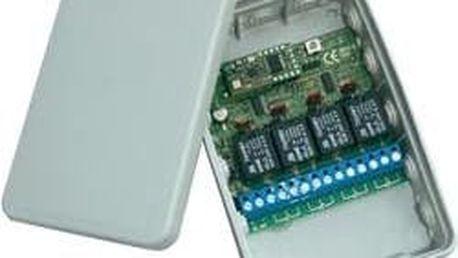 Bezdrátový přijímač SVS, 01274.93, 4kanálový, 1000 m, 434 MHz, 250 V/10 A