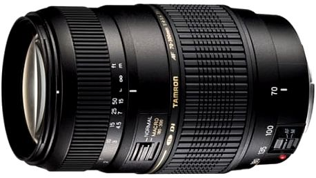 Objektiv Tamron AF 70-300mm F/4-5.6 Di LD Macro 1:2 pro Canon (A17 E) černý
