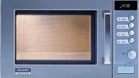 Mikrovlnná trouba bez grilu Sharp R 25AM