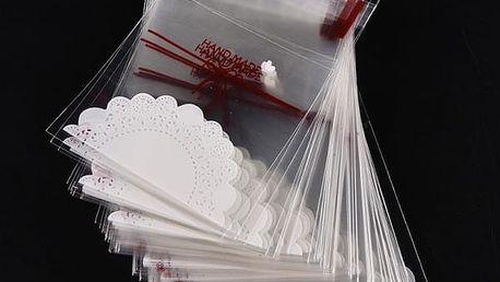 Balení ozdobných pytlíčků - 100 ks