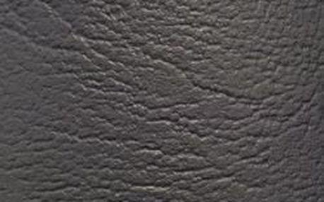 Potah z umělé kůže, 140 x 75 cm, antracit
