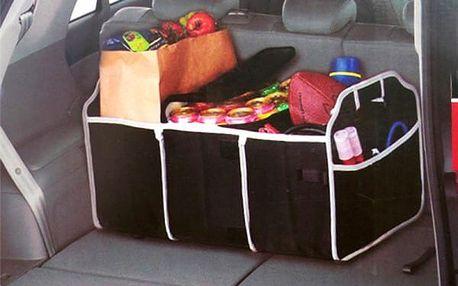 Organizační box do kufru auta