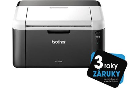 BROTHER Laser HL-1212WE, A4, 2400x600dpi, 20str/min, USB, WiFi GDI