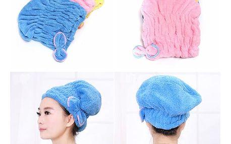Barevný turban na vlasy s mašličkou
