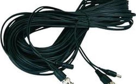 BNC prodlužovací kabel ABUS TVAC40110, BNC, DC IN ⇔ BNC, DC OUT, 10 m