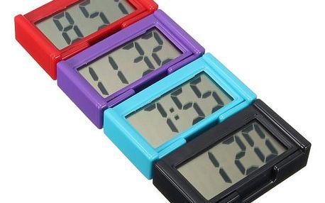 Digitální samolepící LCD hodiny