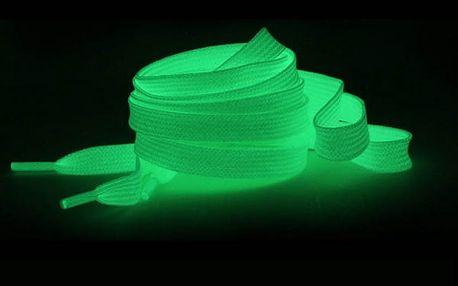 Svítící tkaničky do bot - 120 cm