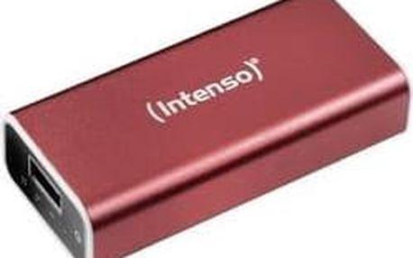 Powerbanka Intenso A 5200 Li-Ion akumulátor 5200 mAh červená
