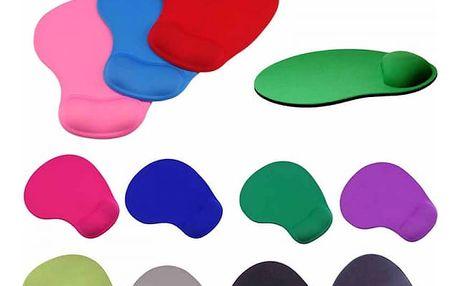Ergonomická podložka pod myš v mnoha barvách